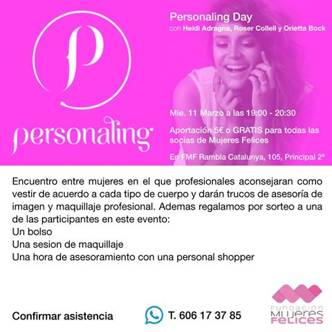Fundacion Mujeres Felices Personaling TheGoldenstyle