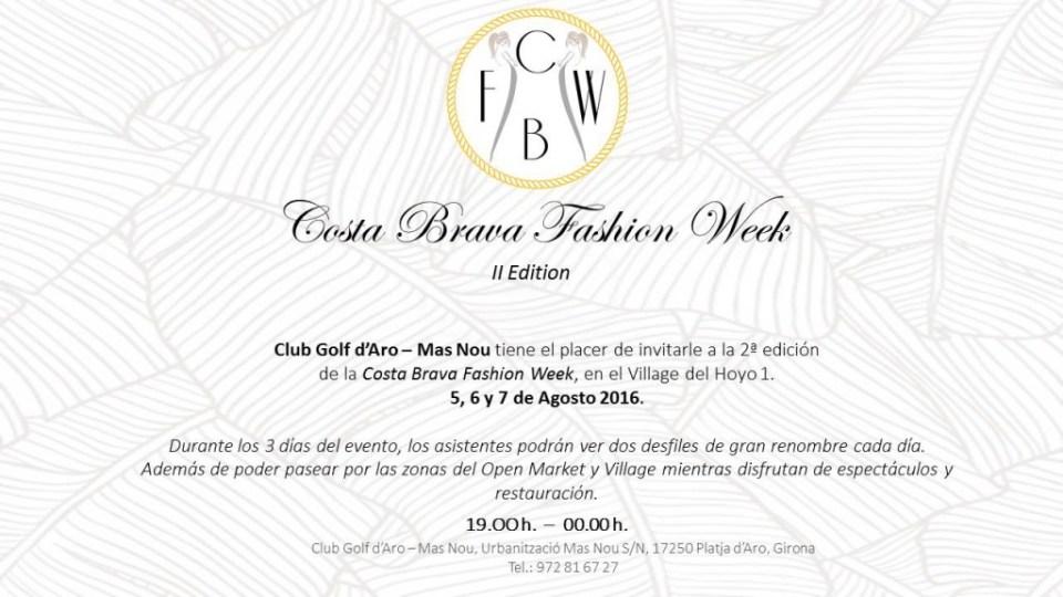 Costa Brava Fashion week TheGoldenStyle