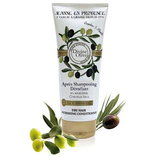 Jeanne en Provence Divine Olive para el cuidado del cabello TheGoldenStyle acondicionador LD