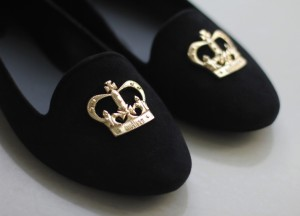 Crown slippers TheGoldenStyle The Golden Style