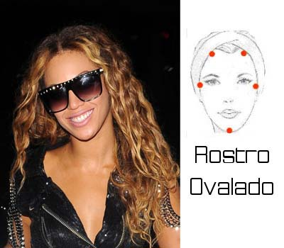 Gafas de Sol Rostro ovalado byonce TheGoldenStyle The Golden Style