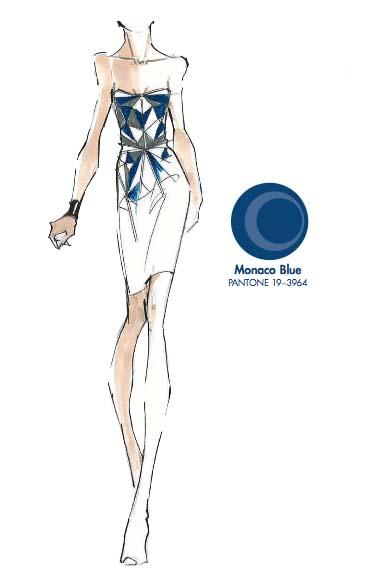 Tendencias de color para la primavera 2013 Monaco Blue TheColdenStyle