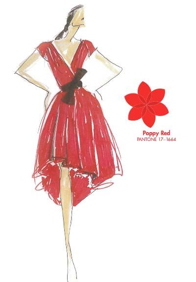 Tendencias de color para la primavera 2013 Poppy Red TheColdenStyle