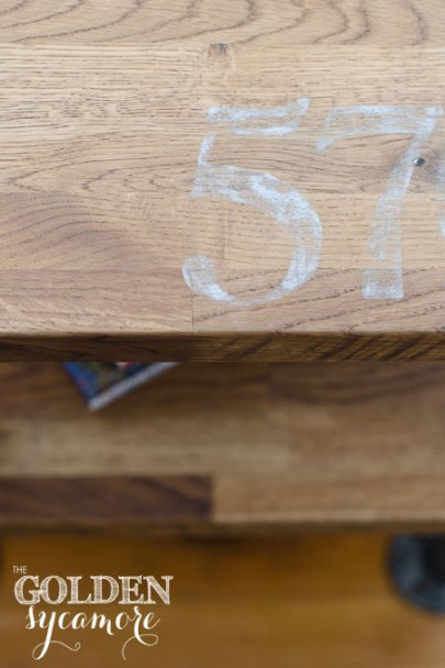 painted-numbers-on-industrial-side-table