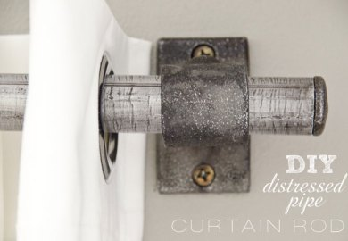 Diy Curtain Rods Pipe