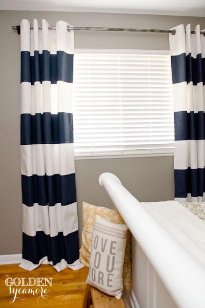 nautical stripe curtains