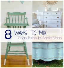 8 Ways Mix Chalk Paint Colors - Golden Sycamore