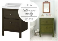 Ikea Bathroom Vanity : Update on the Update