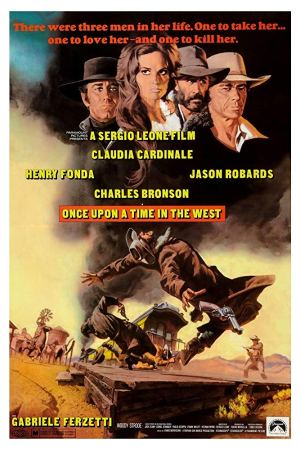once upon a time in the west poster