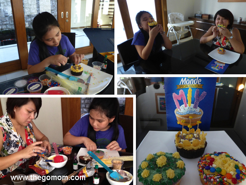easy cupcake decorating for kids, monde mamon do it yourself mamons