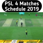 Pakistan Super League – Live Cricket Score – PSL 4 Live Streaming