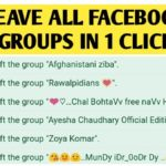 How To Leave Group On Facebook – Facebook Groups List