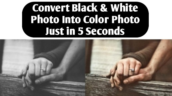 Colourise.Sg - Convert Black And White Photo To Color Online Free - THE GONDAL
