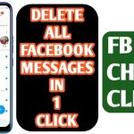 Delete All Facebook Messages in One Click 2020- The GondaL