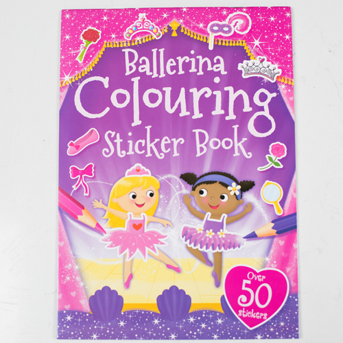 Ballerina colouring and sticker book €5