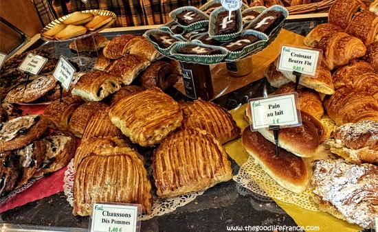 bread in france is