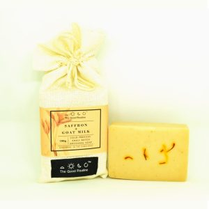 Saffron and Goat Milk Handmade Soap