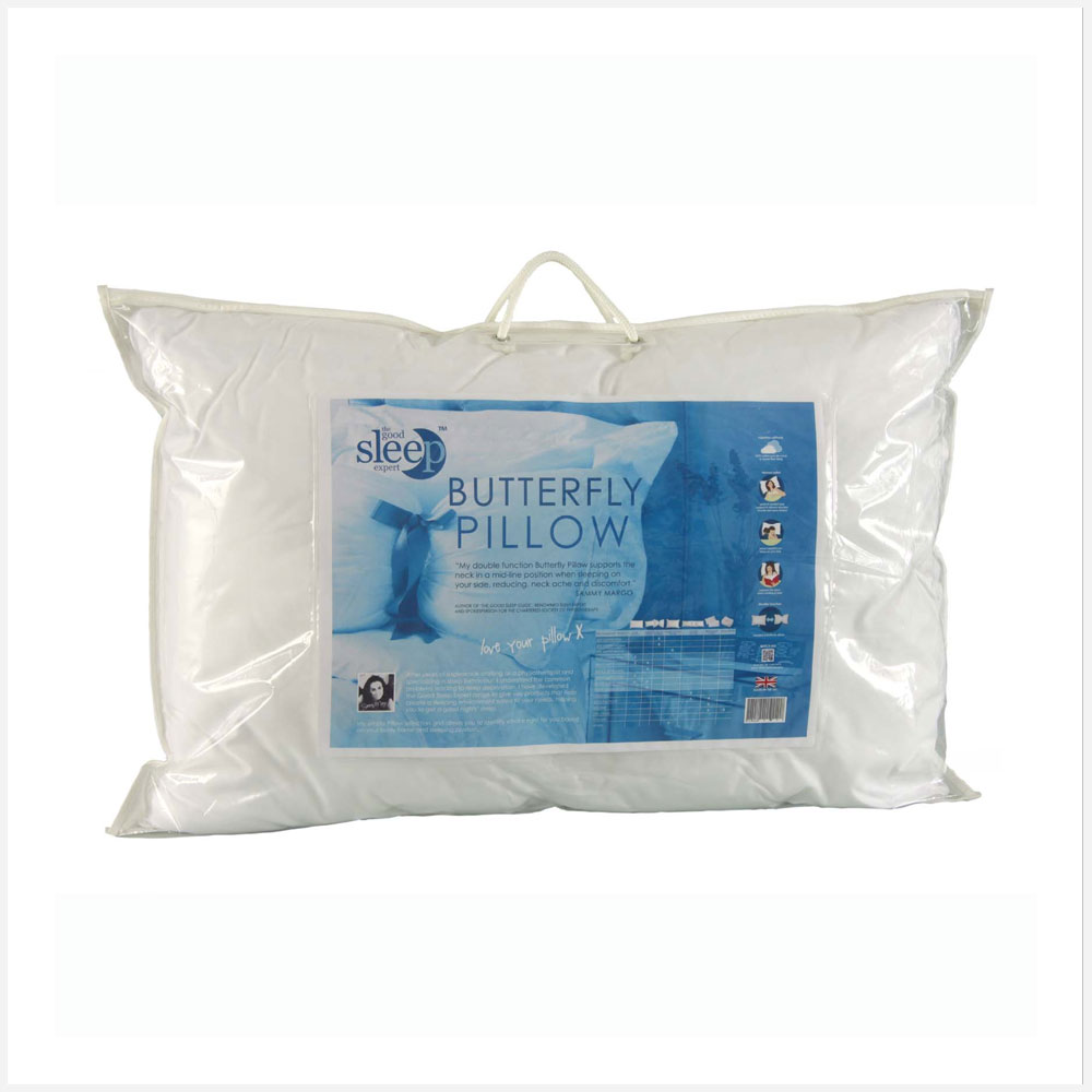 Butterfly Pillow  The Good Sleep Expert