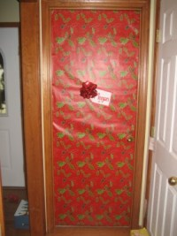 Giant Christmas Present Doors