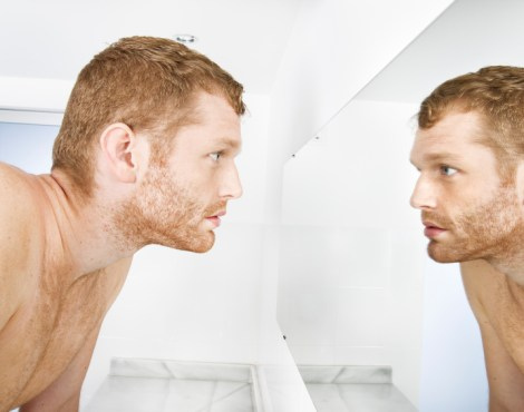 The Man in the Mirror [and Dealing with Difficult People]
