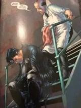 Dick Grayson Struggling Batman Reborn