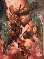 Deathstroke and Harley Quinn