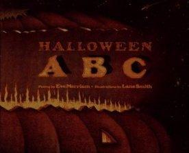 Halloween ABC cover