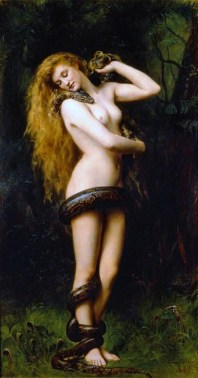 Painting of Lilith by John Collier