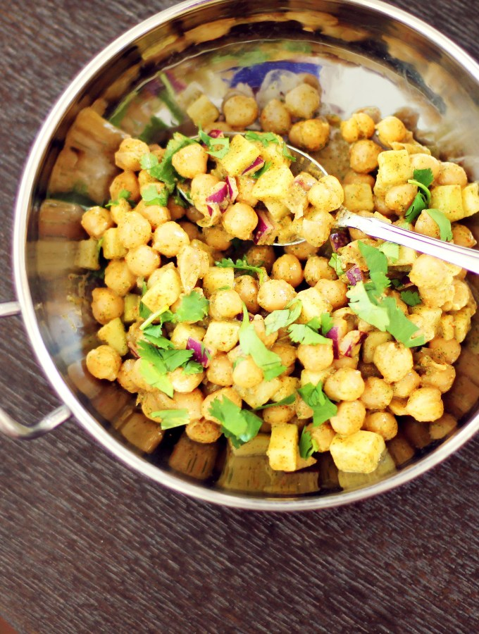 Indian Chaat Salad