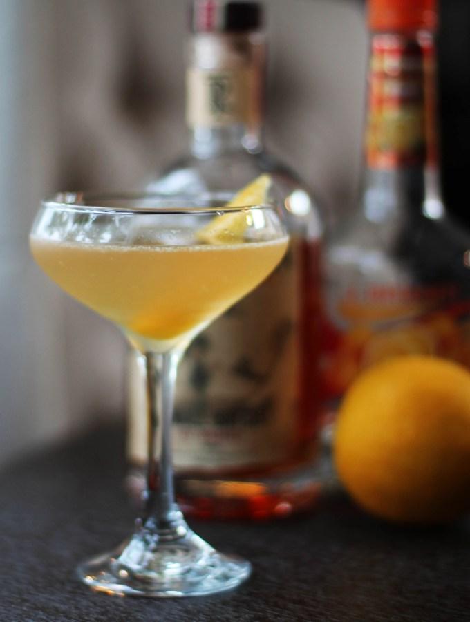 Meyer Lemon Sidecar