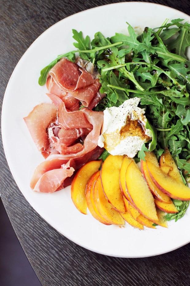 7 Easy Prosciutto Recipes Worth Sharing - Peach & Prosciutto Salad