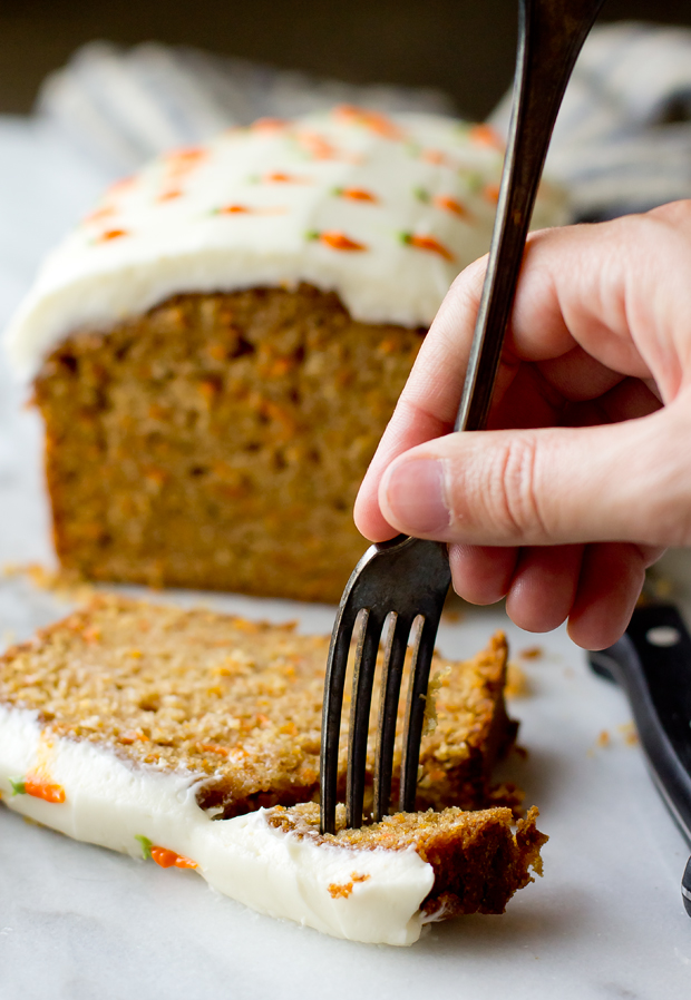 Carrot Cake Loaf - The Gourmet Gourmand