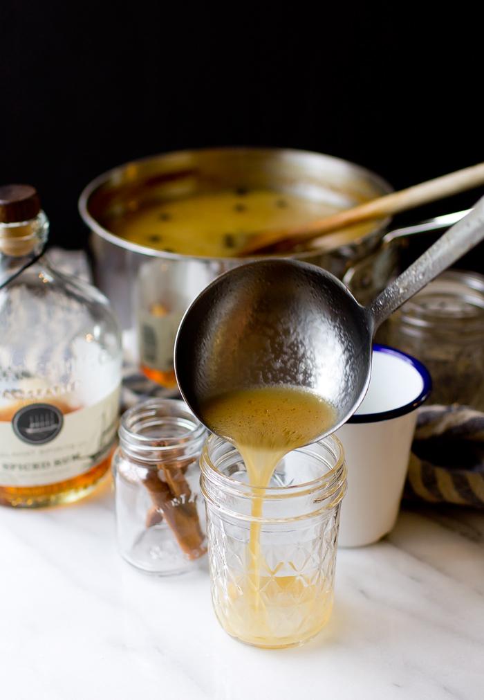 Hot Buttered Rum Apple Cider