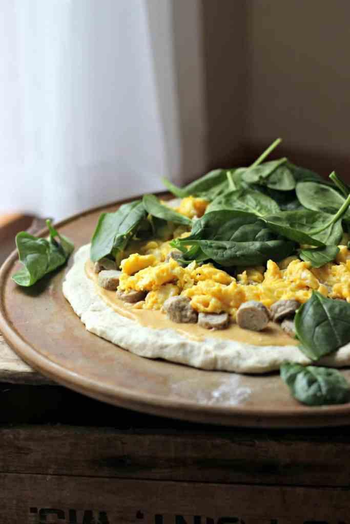 Breakfast Pizza 5