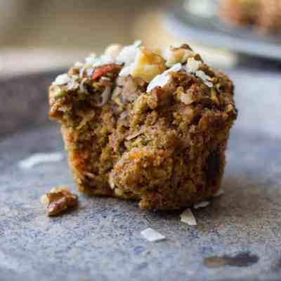 Loaded Morning Glory Muffins