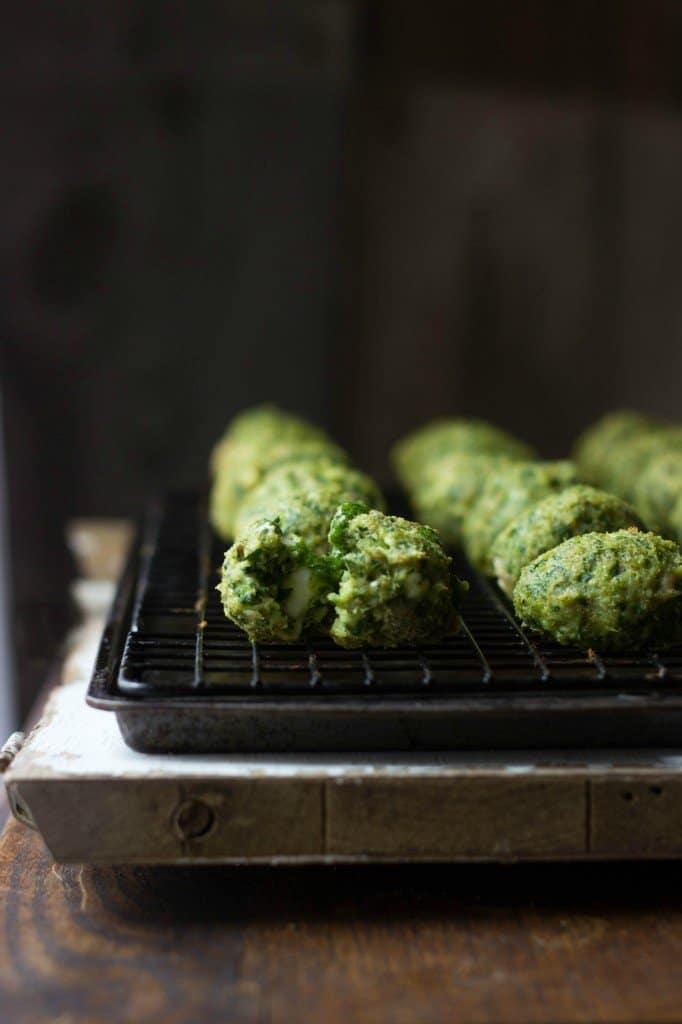 Spanakopita Chicken Meatballs Spinach Dill Pesto The