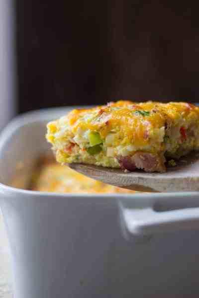 Bacon & Veggie Breakfast Casserole