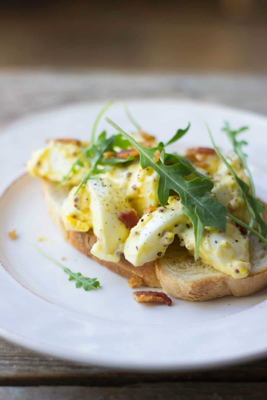 Grown up egg salad sandwiches the gourmet rd idk theres just something about this egg salad that makes me happy forumfinder Images
