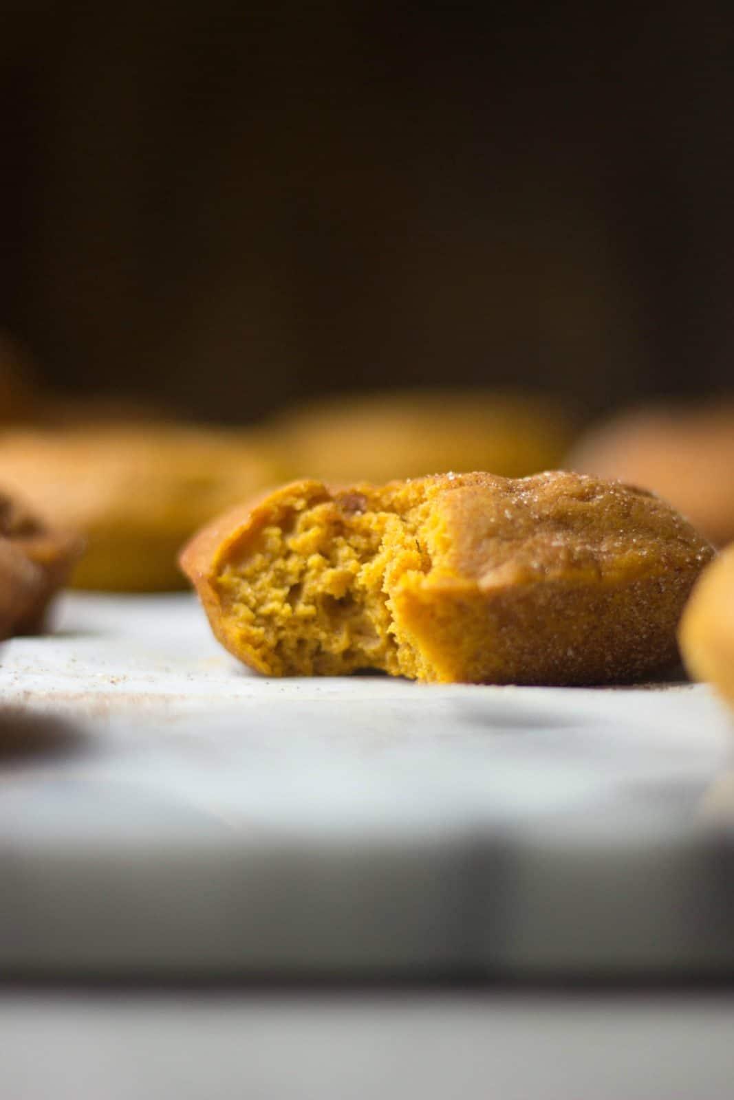 Cinnamon Sugar Pumpkin Donuts - The Gourmet RD