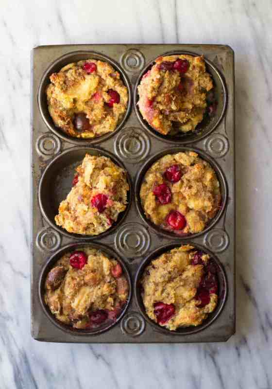 Cranberry Maple French Toast Cups