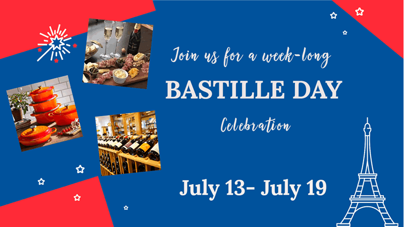 Bastille Day 2020 at The Gourmet Shop