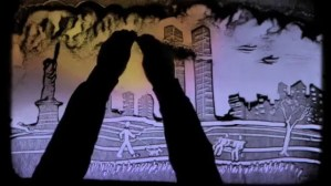 See How to use Sand Art to tell a Powerful Story
