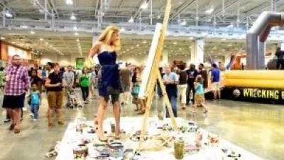 Heidi Schwartz trade show interactive ideas