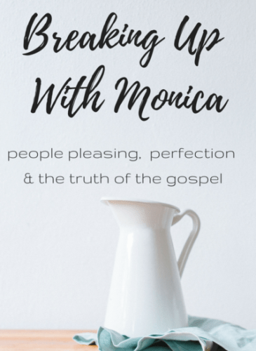 To the Woman Struggling with Perfection and the Gospel