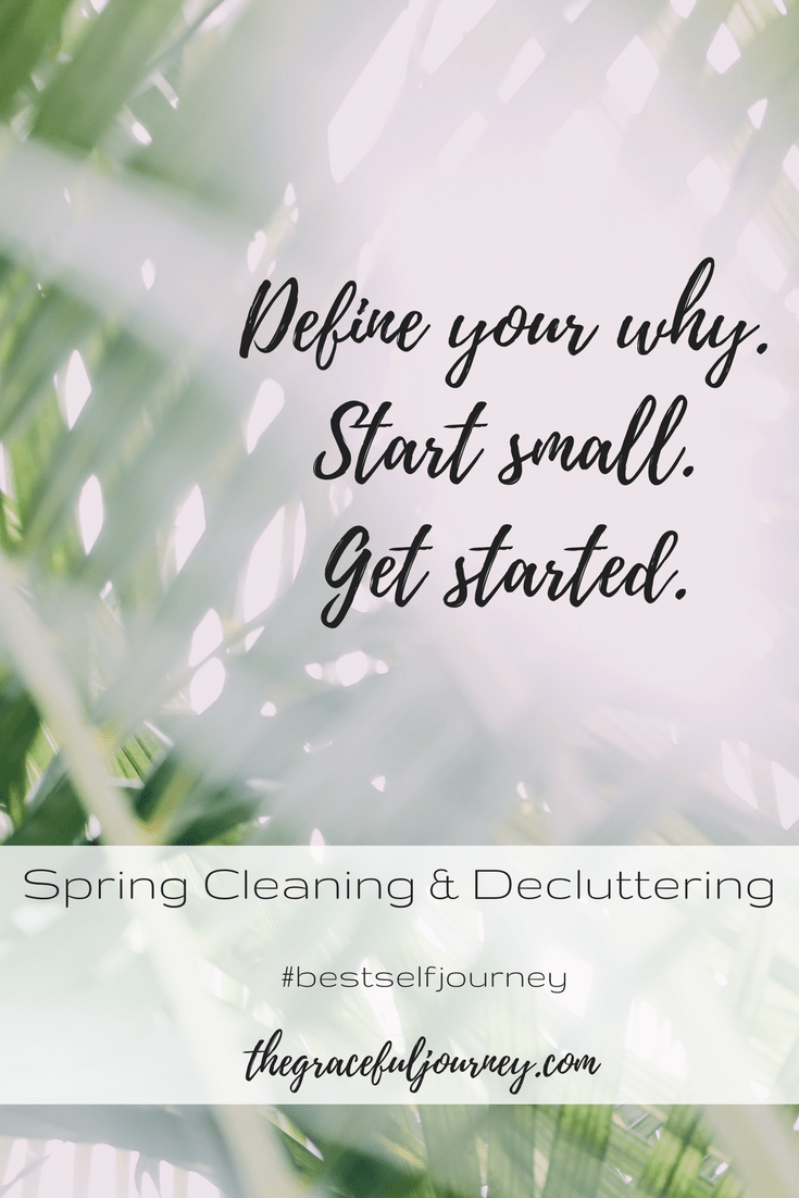 Best Self Journey, Spring Cleaning and decluttering