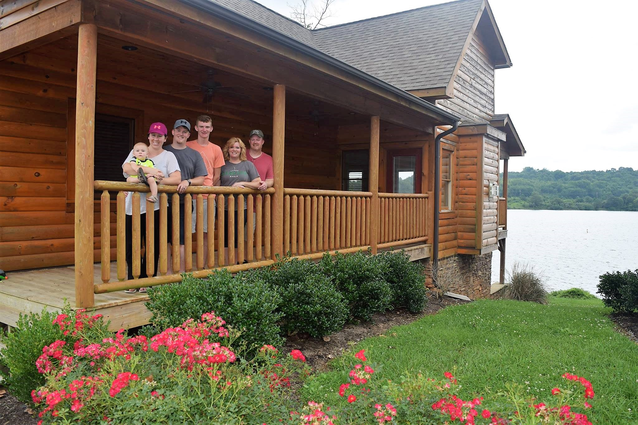 The Grand Seeley Adventure, Family Vacation, hike and lake day, family photo