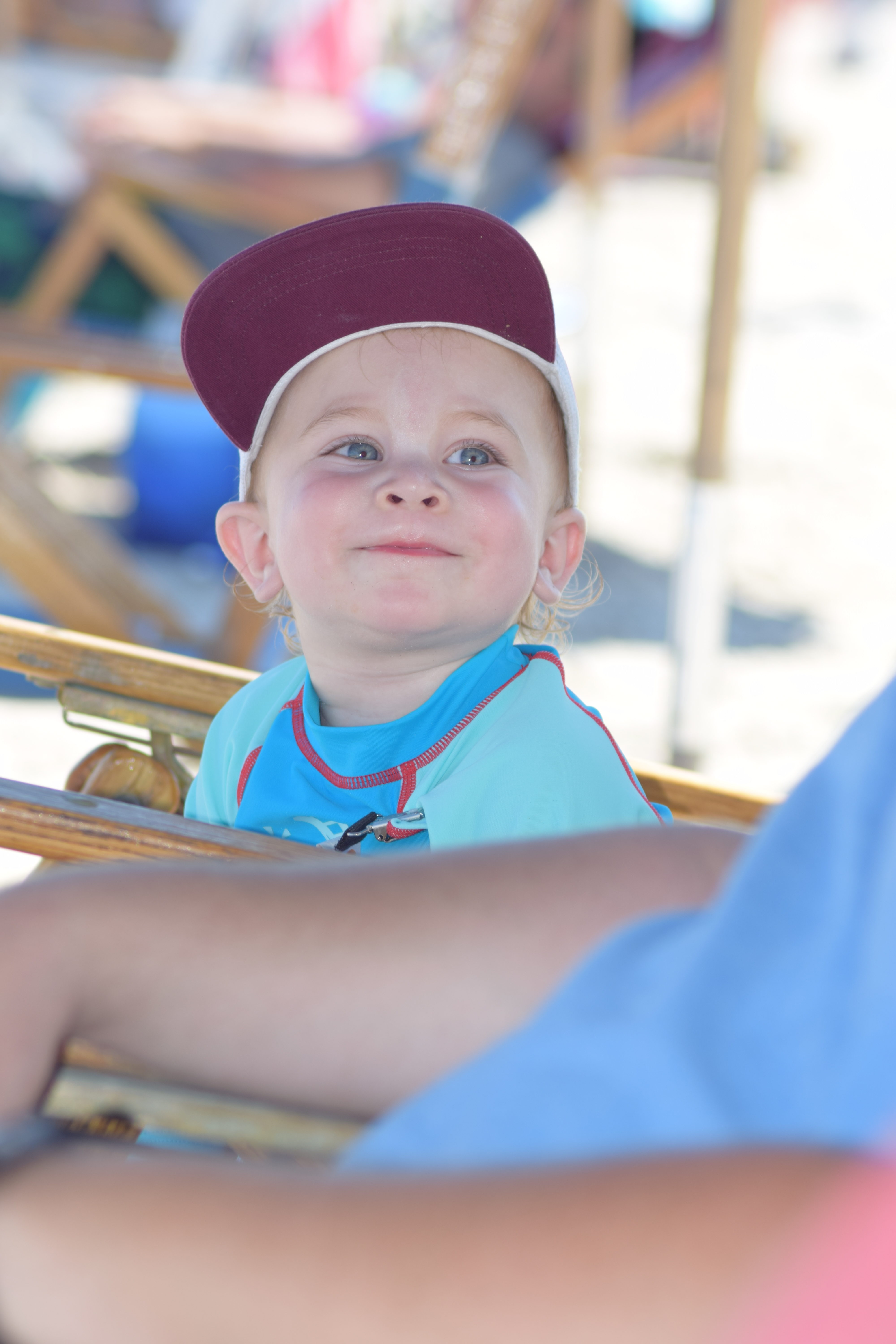 The Grand Seeley Adventure, Family Vacation, beach day