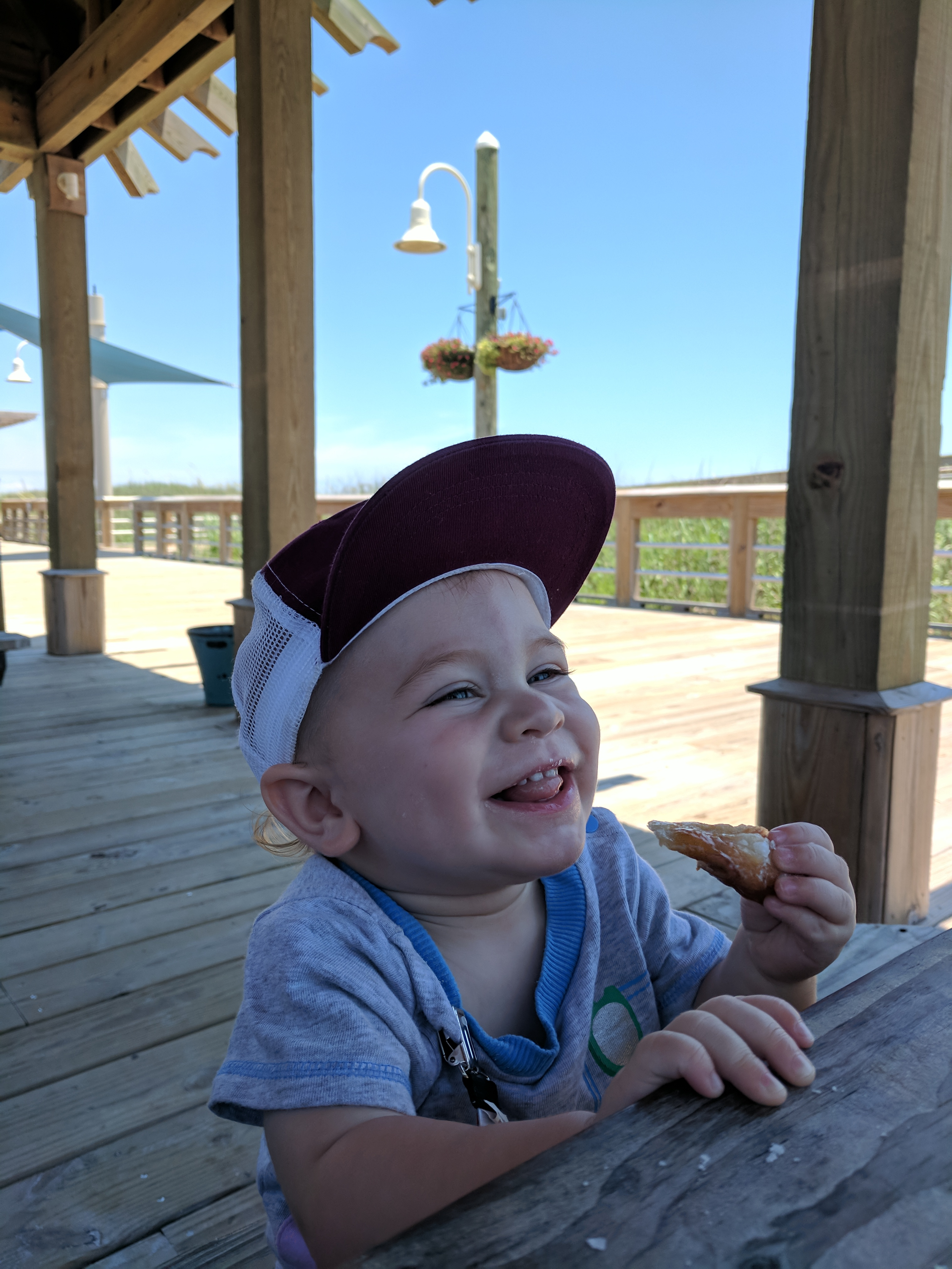 The Grand Seeley Adventure, family vacation, Logan, donuts