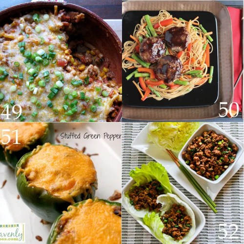 Over 50 Quick And Easy Dinner Ideas With Ground Beef