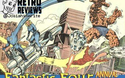 Retro Reviews: Fantastic Four Annual no. 1 (1963)